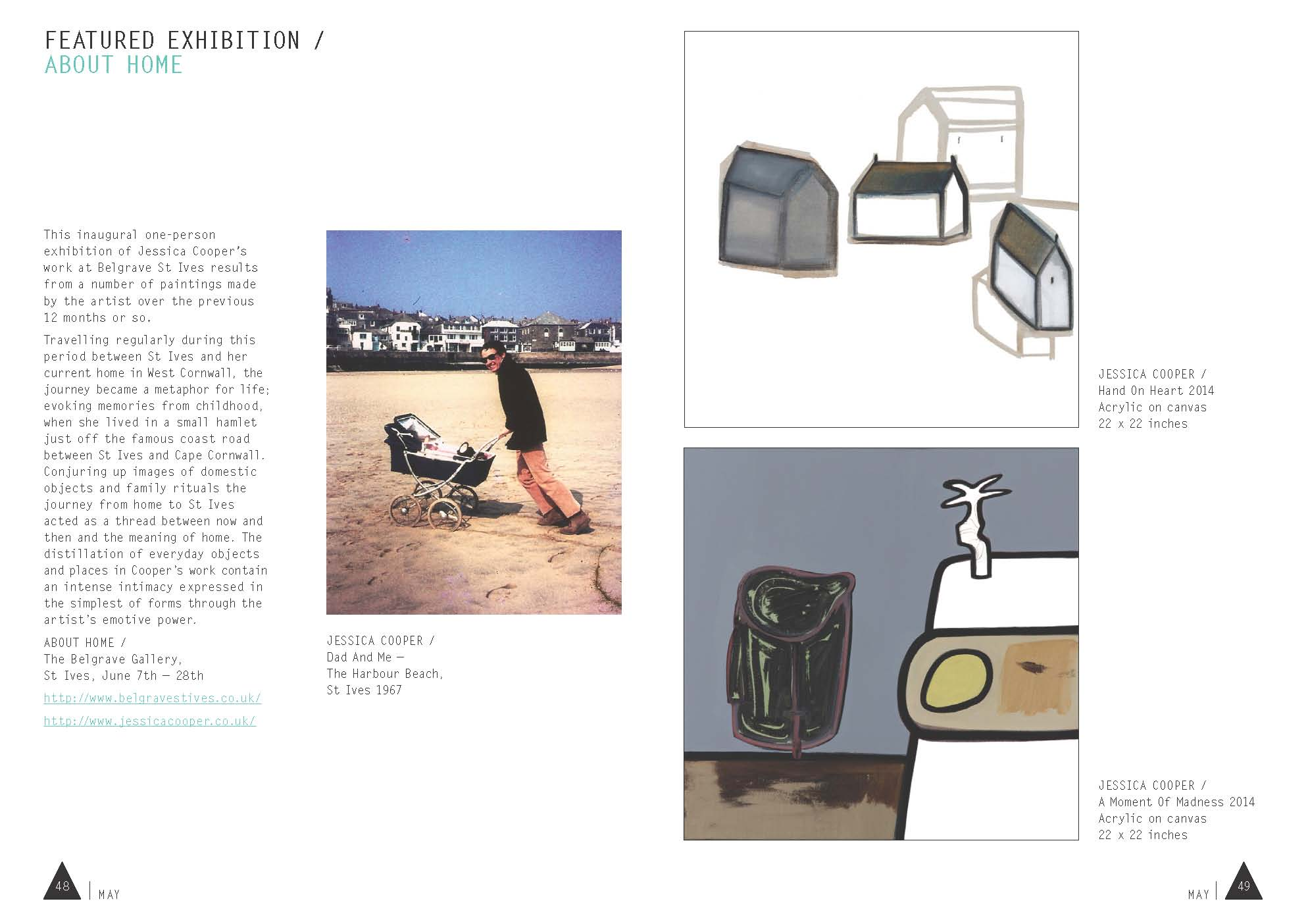exhibition of the month : may issue : aesthetip magazine : online at ISSUU